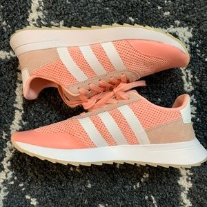 Adidas Neon Pink Running Shoes